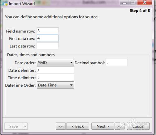 如何将excel表格的数据导入到mysql数据中去