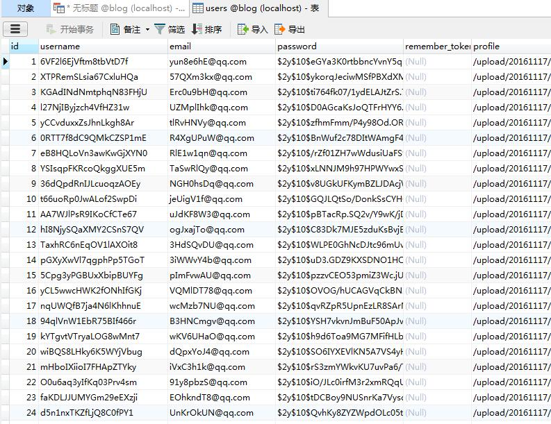MySQL中使用truncate命令清空表并重置id从1开始
